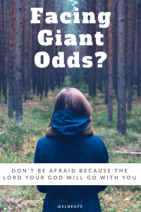 dont be afraid when facing giant odds